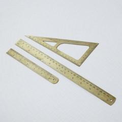 Ruler 30cm, Brass