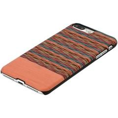 아이폰8/7플러스 우드케이스 - 브라우니체크