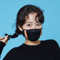[라라퍼프] 화장이 묻어나지 않는 패션 마스크 리미티드V 4종