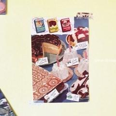 빈티지 미니 포스터 :: party cakes