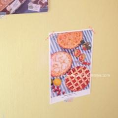 빈티지 미니 포스터 :: pies