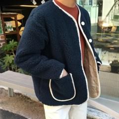 노카라 덤블 자켓 (3color)