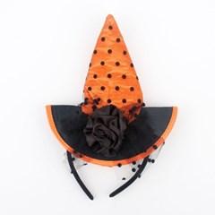 마녀모자머리띠 [오렌지]
