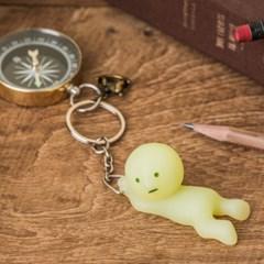 Smiski Key Chain-Grabbing(붙잡기)