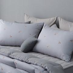 울트라파인화이바 밤비숲 베개커버 50x70 (2color)