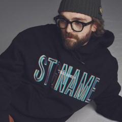 [기모]STG signature hoodie BLACK