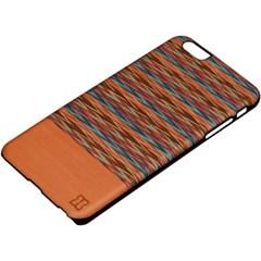 아이폰6s/6플러스 우드케이스 - 브라우니체크