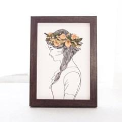 [SOJ 소제이] 드라이플라워 액자 Flower crown