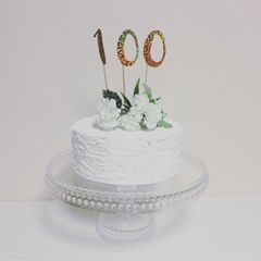 PP CAKE TOPPER - NUMBER