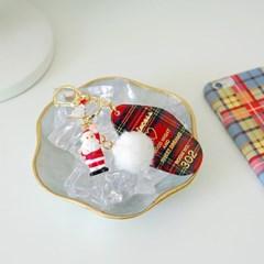 토이 키링-해피 크리스마스(산타)