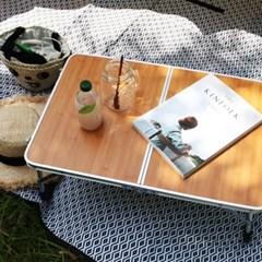 캠프타임 접이식 캠핑 테이블 좌식테이블