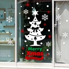 제제데코 크리스마스 눈꽃 스티커 장식 CMS4J040_(837126)
