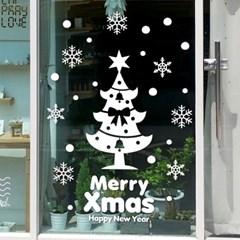 제제데코 크리스마스 눈꽃 스티커 장식 CMS4J039_(837125)