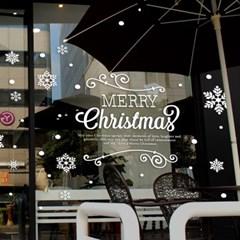 제제데코 크리스마스 눈꽃 스티커 장식 CMS4J038_(837124)