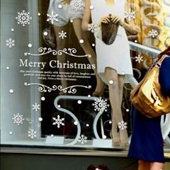 제제데코 크리스마스 눈꽃 스티커 장식 CMS4J037_(837123)