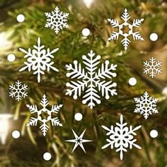 제제데코 크리스마스 눈꽃 스티커 장식 CMS4J012_(837098)