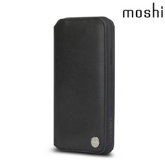 모쉬 아이폰XR 지갑케이스 오버추어_블랙