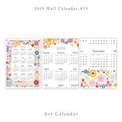 [2019 달력] Wall Calendar - 15