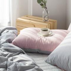 주호데코 구스 사계절 차렵이불세트 싱글S 핑크(이불1+베개커버1)