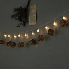LED 메리크리스마스 이니셜전구조명 (배터리팩)_(611030)