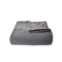 소프트 fur 블랭킷 gray