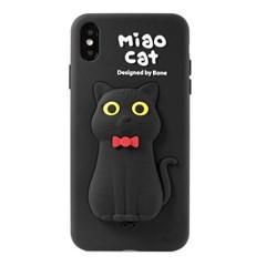 본컬렉션 큐케이스 고양이 아이폰 XS MAX 맥스 실리콘케이스