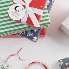 크리스마스 포장지5종 셋트A(5개)