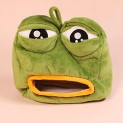 [SNS화제 인싸템] 갓샵 슬픈 개구리 페페 휴지 티슈 케이스