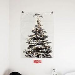 패브릭 포스터 F139 인테리어 장식 크리스마스 트리