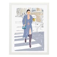Street Fashion1 일러스트 포스터 (액자판매)