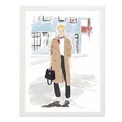 Street Fashion 2 일러스트 포스터 (액자판매)