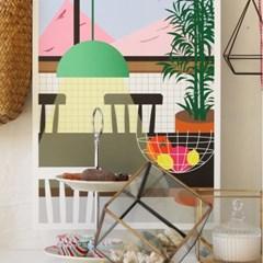 공간 디자인 포스터 키친 (주방) A3, A2
