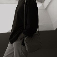 monochrome _cross bag _beige