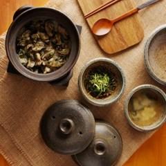 일본식기 [리교가마] 이중뚜껑 도기밥솥_(1056660)
