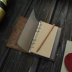 천연가죽 수제 다이어리/ DiaryBinder_Simple B6 [Mars Brown]