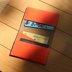CARD WALLET folded