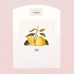 BOTANICAL SCENTED CARD – LEMON