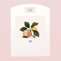 BOTANICAL SCENTED CARD – PLUM