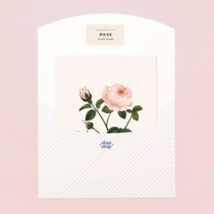 BOTANICAL SCENTED CARD – ROSE
