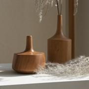 [로렌] wood vase B