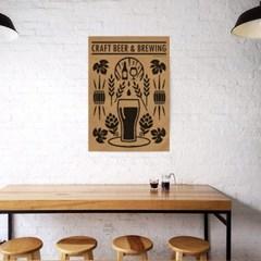 유니크 크라프트 인테리어 디자인 포스터 M 크래프트 비어 수제맥주
