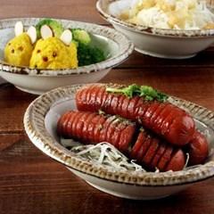 일본식기 내추럴카페 미니 타원볼_(1058492)