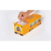 [식약처인증]먼지몬지 KF80 황사마스크 소형 20매