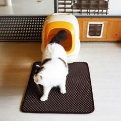 고양이 모래매트 특대형