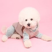 퍼카라패딩조끼(beige) Fur collar padding