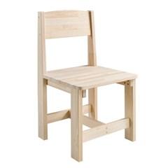 린 편백나무 의자
