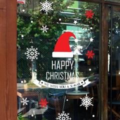 제제데코 크리스마스 눈꽃 스티커 장식 CMS4J213_(847578)