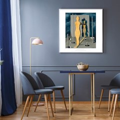 La chambre du devin (The seer's chamber) - 르네 마그리트 029