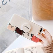 블루글로시 BOTTOM 스마트톡 아이폰 케이스