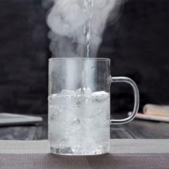 스틸 인퓨저 유리컵 3color (500ml)